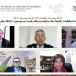 ISID's Session at WTO Public Forum 2021